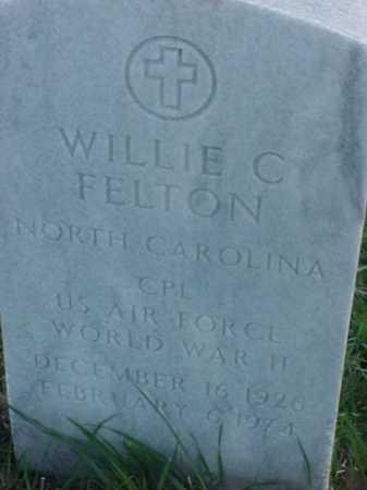 FELTON (VETERAN WWII), WILLIE C - Pulaski County, Arkansas | WILLIE C FELTON (VETERAN WWII) - Arkansas Gravestone Photos