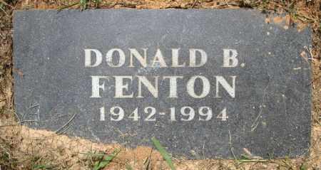 FENTON, DONALD B. - Pulaski County, Arkansas | DONALD B. FENTON - Arkansas Gravestone Photos