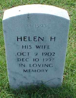 FERRELL, HELEN H. - Pulaski County, Arkansas | HELEN H. FERRELL - Arkansas Gravestone Photos