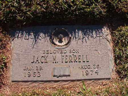 FERRELL, JACK M - Pulaski County, Arkansas | JACK M FERRELL - Arkansas Gravestone Photos