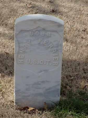 FERRIER (VETERAN UNION), HENRY - Pulaski County, Arkansas | HENRY FERRIER (VETERAN UNION) - Arkansas Gravestone Photos