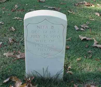 FIELDS, NITA B - Pulaski County, Arkansas | NITA B FIELDS - Arkansas Gravestone Photos