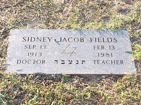 FIELDS, SIDNEY JACOB - Pulaski County, Arkansas   SIDNEY JACOB FIELDS - Arkansas Gravestone Photos