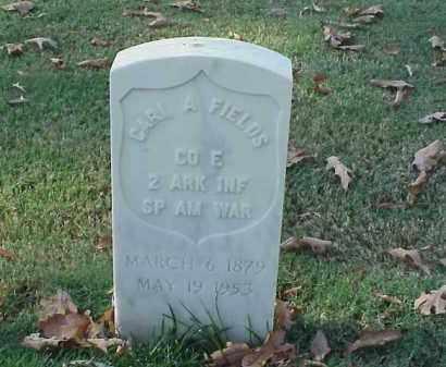 FIELDS (VETERAN SAW), CARL A - Pulaski County, Arkansas | CARL A FIELDS (VETERAN SAW) - Arkansas Gravestone Photos