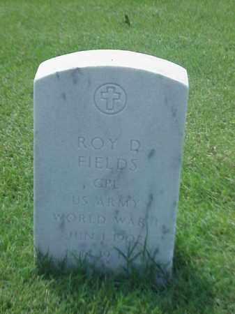 FIELDS (VETERAN WWI), ROY D - Pulaski County, Arkansas | ROY D FIELDS (VETERAN WWI) - Arkansas Gravestone Photos
