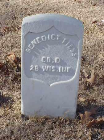 FIESS (VETERAN UNION), BENEDICT - Pulaski County, Arkansas   BENEDICT FIESS (VETERAN UNION) - Arkansas Gravestone Photos