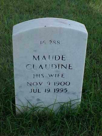 FIEST, MAUDE CLAUDINE - Pulaski County, Arkansas | MAUDE CLAUDINE FIEST - Arkansas Gravestone Photos
