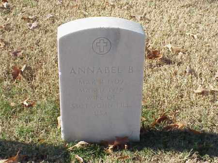 FILL, ANNABEL B - Pulaski County, Arkansas | ANNABEL B FILL - Arkansas Gravestone Photos