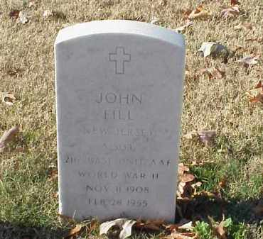 FILL (VETERAN WWII), JOHN - Pulaski County, Arkansas | JOHN FILL (VETERAN WWII) - Arkansas Gravestone Photos