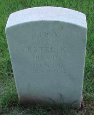 FINCH, ESTEL K. - Pulaski County, Arkansas   ESTEL K. FINCH - Arkansas Gravestone Photos