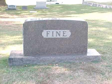 FINE FAMILY STONE,  - Pulaski County, Arkansas    FINE FAMILY STONE - Arkansas Gravestone Photos