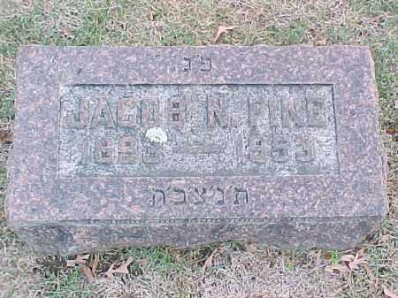 FINE, JACOB N - Pulaski County, Arkansas | JACOB N FINE - Arkansas Gravestone Photos