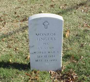 FINGERS (VETERAN WWII), MONROE - Pulaski County, Arkansas | MONROE FINGERS (VETERAN WWII) - Arkansas Gravestone Photos
