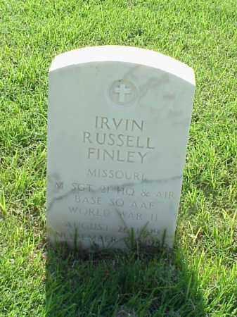 FINLEY (VETERAN WWII), IRVIN RUSSELL - Pulaski County, Arkansas | IRVIN RUSSELL FINLEY (VETERAN WWII) - Arkansas Gravestone Photos