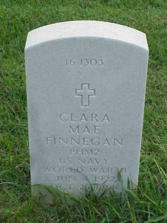 FINNEGAN (VETERAN WWII), CLARA MAE - Pulaski County, Arkansas | CLARA MAE FINNEGAN (VETERAN WWII) - Arkansas Gravestone Photos