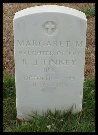 FINNEY, MARGARET M - Pulaski County, Arkansas | MARGARET M FINNEY - Arkansas Gravestone Photos