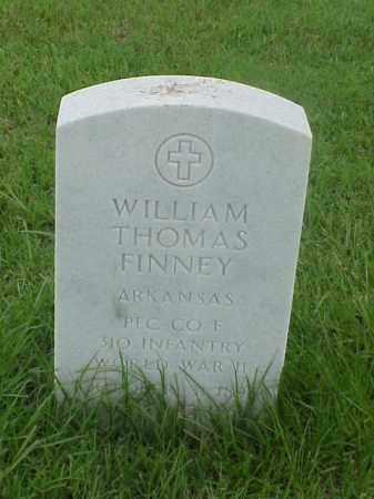 FINNEY (VETERAN WWII), WILLIAM THOMAS - Pulaski County, Arkansas   WILLIAM THOMAS FINNEY (VETERAN WWII) - Arkansas Gravestone Photos