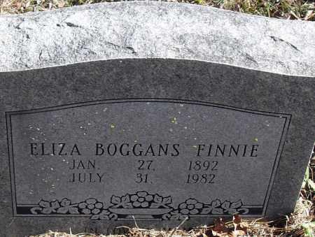 BOGGANS FINNIE, ELIZA NEW - Pulaski County, Arkansas | ELIZA NEW BOGGANS FINNIE - Arkansas Gravestone Photos
