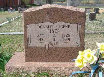FISER, DONALD EUGENE - Pulaski County, Arkansas   DONALD EUGENE FISER - Arkansas Gravestone Photos