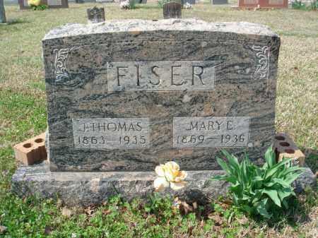 FISER, JAMES THOMAS - Pulaski County, Arkansas | JAMES THOMAS FISER - Arkansas Gravestone Photos