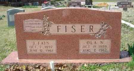 FISER, JAMES FAIN - Pulaski County, Arkansas | JAMES FAIN FISER - Arkansas Gravestone Photos