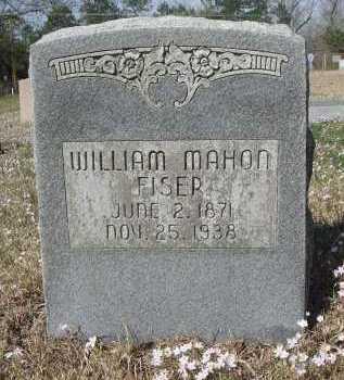 FISER, WILLIAM MAHON - Pulaski County, Arkansas   WILLIAM MAHON FISER - Arkansas Gravestone Photos