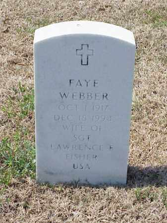 FISHER, FAYE - Pulaski County, Arkansas | FAYE FISHER - Arkansas Gravestone Photos