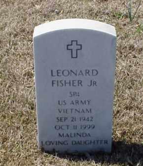 FISHER, JR  (VETERAN VIET), LEONARD - Pulaski County, Arkansas | LEONARD FISHER, JR  (VETERAN VIET) - Arkansas Gravestone Photos