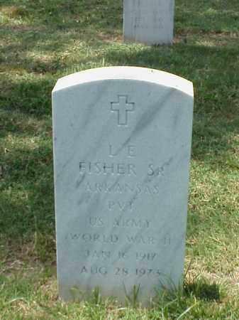 FISHER, SR (VETERAN WWII), L E - Pulaski County, Arkansas | L E FISHER, SR (VETERAN WWII) - Arkansas Gravestone Photos
