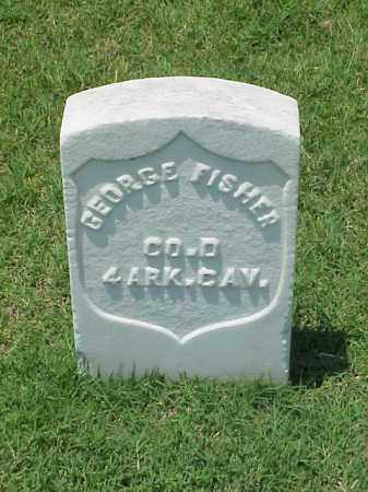 FISHER (VETERAN UNION), GEORGE - Pulaski County, Arkansas | GEORGE FISHER (VETERAN UNION) - Arkansas Gravestone Photos