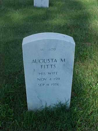 FITTS, AUGUSTA M - Pulaski County, Arkansas | AUGUSTA M FITTS - Arkansas Gravestone Photos