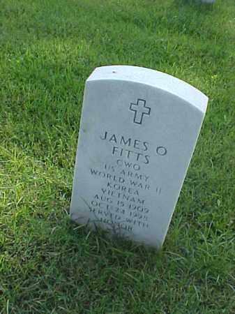 FITTS (VETERAN 3 WARS), JAMES O - Pulaski County, Arkansas | JAMES O FITTS (VETERAN 3 WARS) - Arkansas Gravestone Photos