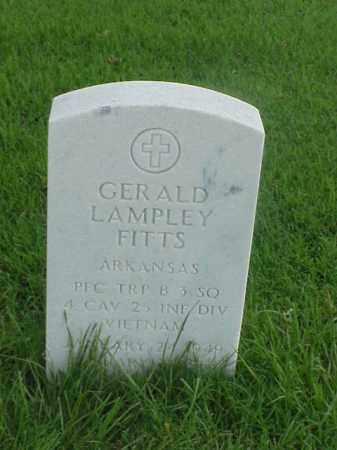 FITTS (VETERAN VIET), GERALD LAMPLEY - Pulaski County, Arkansas | GERALD LAMPLEY FITTS (VETERAN VIET) - Arkansas Gravestone Photos