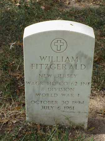 FITZGERALD (VETERAN WWI), WILLIAM - Pulaski County, Arkansas | WILLIAM FITZGERALD (VETERAN WWI) - Arkansas Gravestone Photos