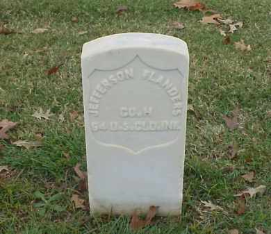 FLANDERS (VETERAN UNION), JEFFERSON - Pulaski County, Arkansas | JEFFERSON FLANDERS (VETERAN UNION) - Arkansas Gravestone Photos