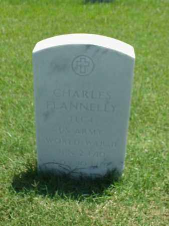 FLANNELLY (VETERAN WWII), CHARLES - Pulaski County, Arkansas | CHARLES FLANNELLY (VETERAN WWII) - Arkansas Gravestone Photos