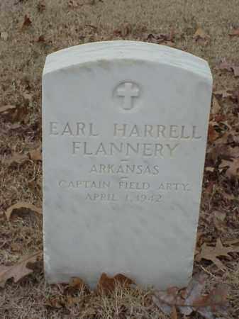 FLANNERY (VETERAN WWI), EARL HARRELL - Pulaski County, Arkansas | EARL HARRELL FLANNERY (VETERAN WWI) - Arkansas Gravestone Photos