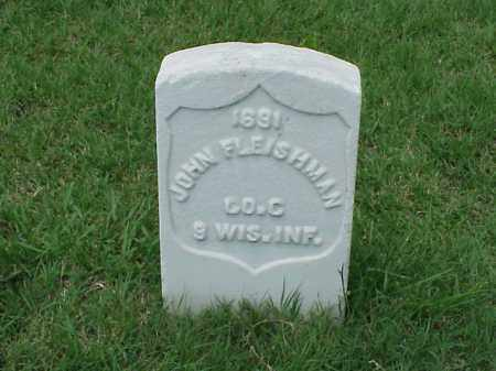 FLEISHMAN (VETERAN UNION), JOHN - Pulaski County, Arkansas | JOHN FLEISHMAN (VETERAN UNION) - Arkansas Gravestone Photos