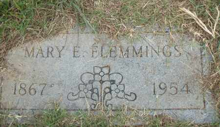FLEMMINGS, MARY E. - Pulaski County, Arkansas | MARY E. FLEMMINGS - Arkansas Gravestone Photos