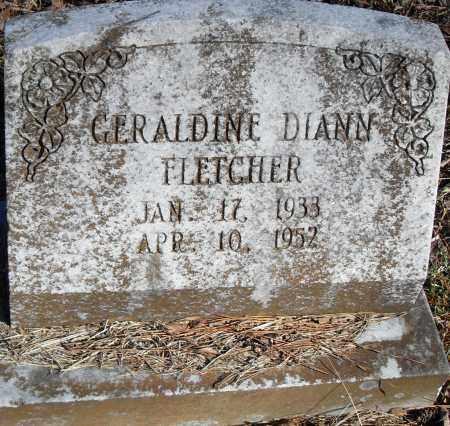 FLETCHER, GERALDINE DIANN - Pulaski County, Arkansas | GERALDINE DIANN FLETCHER - Arkansas Gravestone Photos