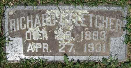 FLETCHER, RICHARD L. - Pulaski County, Arkansas   RICHARD L. FLETCHER - Arkansas Gravestone Photos