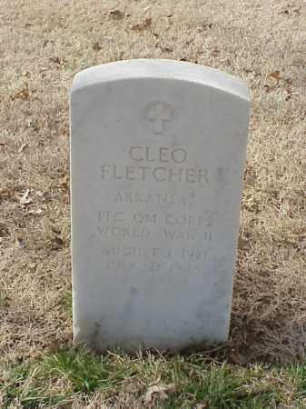FLETCHER (VETERAN WWII), CLEO - Pulaski County, Arkansas   CLEO FLETCHER (VETERAN WWII) - Arkansas Gravestone Photos