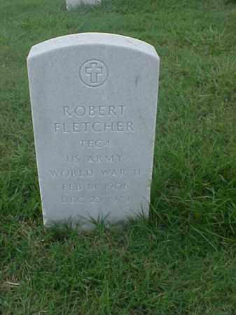 FLETCHER (VETERAN WWII), ROBERT - Pulaski County, Arkansas | ROBERT FLETCHER (VETERAN WWII) - Arkansas Gravestone Photos