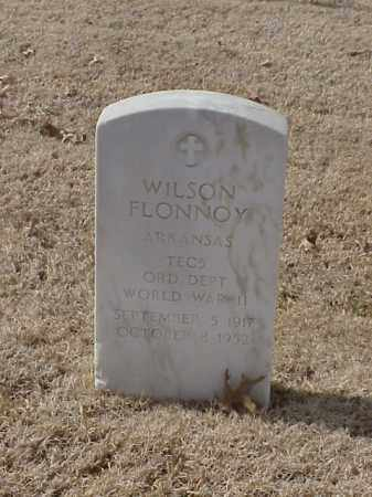 FLONNOY (VETERAN WWII), WILSON - Pulaski County, Arkansas | WILSON FLONNOY (VETERAN WWII) - Arkansas Gravestone Photos