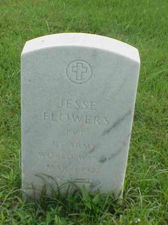FLOWERS (VETERAN WWII), JESSE - Pulaski County, Arkansas | JESSE FLOWERS (VETERAN WWII) - Arkansas Gravestone Photos