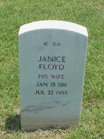 FLOYD, JANICE - Pulaski County, Arkansas | JANICE FLOYD - Arkansas Gravestone Photos