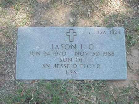 FLOYD, JASON L C - Pulaski County, Arkansas | JASON L C FLOYD - Arkansas Gravestone Photos