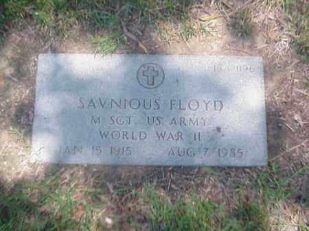 FLOYD (VETERAN WWII), SAVNIOUS - Pulaski County, Arkansas | SAVNIOUS FLOYD (VETERAN WWII) - Arkansas Gravestone Photos