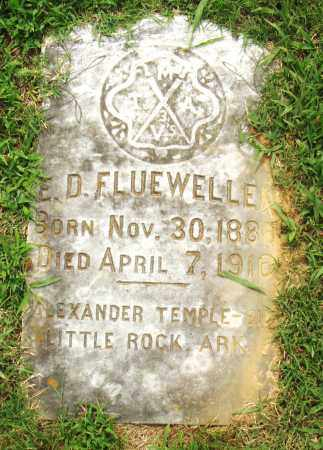 FLUEWELLE, E.D. - Pulaski County, Arkansas   E.D. FLUEWELLE - Arkansas Gravestone Photos