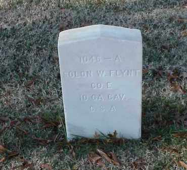 FLYNT (VETERAN CSA), SOLON W - Pulaski County, Arkansas | SOLON W FLYNT (VETERAN CSA) - Arkansas Gravestone Photos